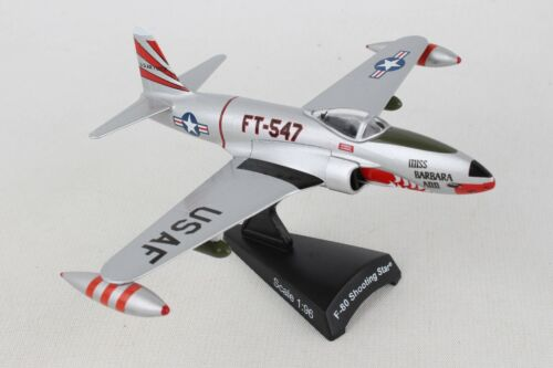 "POSTAGE STAMP USAF F-80 /""SHOOTING STAR/"" 1:96 SCALE DIECAST METAL MODEL"