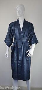 Kimono-Pajama-Dressing-Gown-Bath-Robe-Underwear-Men-039-s-Nightwear