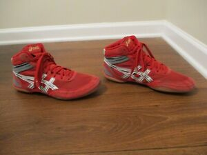 asics matflex red