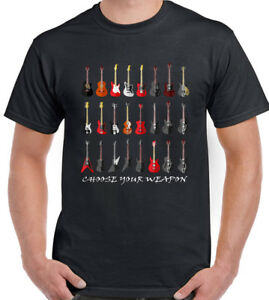 Mens-Funny-Guitar-T-Shirt-Electric-Acoustic-Bass-Amp-Amplifier