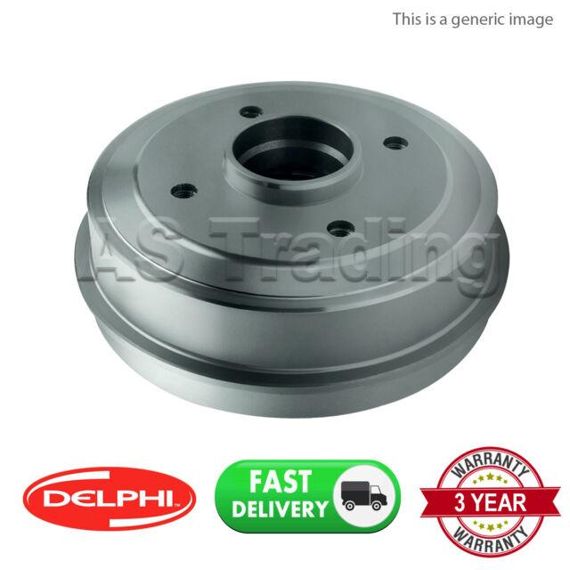 Brake Drum fits NISSAN NOTE E11 1.6 Rear 06 to 12 HR16DE 203.3mm B/&B 43206AX650