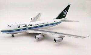 If747spsv0818p 1/200 Saudi Arabian Airlines Boeing 747sp-68 Hz-aij poli W / st