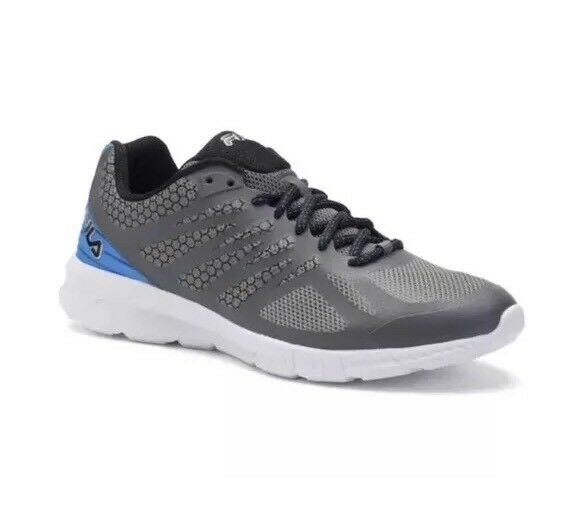 New Mens Fila Memory Foam Speedstride gray/blue Running shoes Comfortable Seasonal price cuts, discount benefits