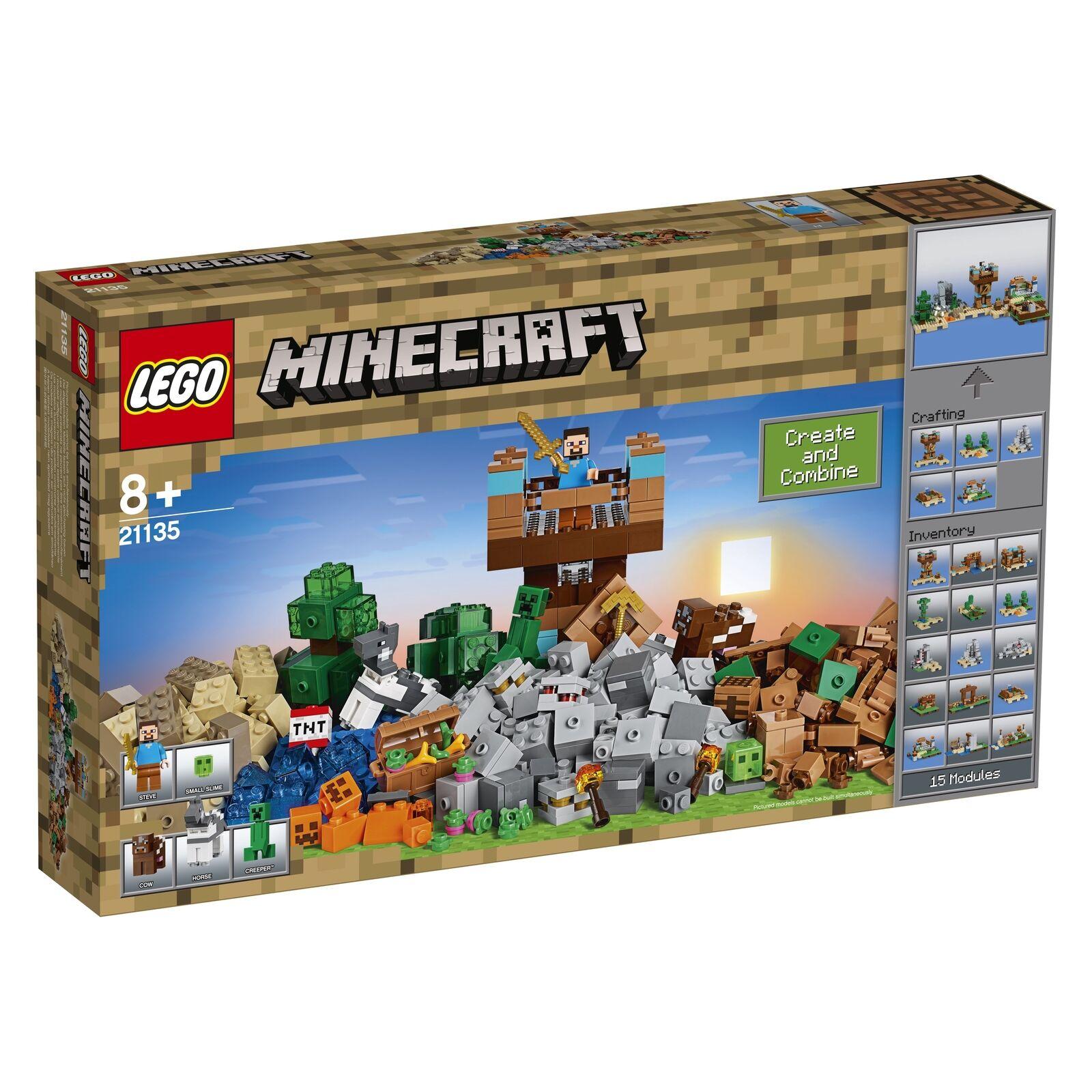 LEGO Minecraft 21135 Die Crafting-Box 2.0 NEU und OVP
