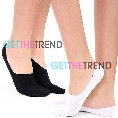 Balerina,No Show NEW 3 Pairs Ladies Invisible Socks,Footsies,Trainer Shoe Liner