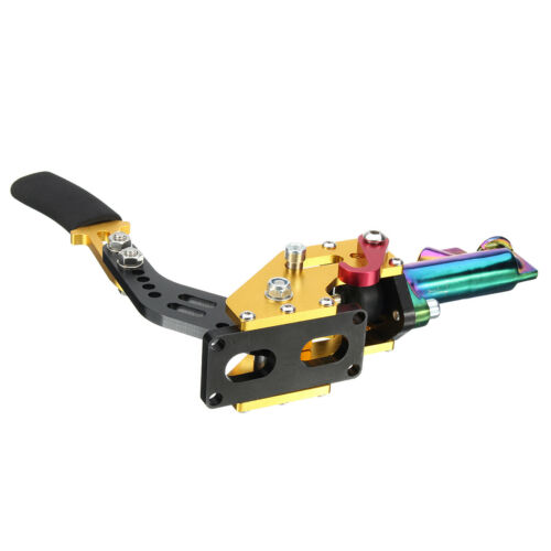 HYDRAULIC HORIZONTAL DRIFT RALLY E-BRAKE RACING PARKING HANDBRAKE LEVER 5  \