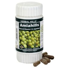 Herbal Hills AMLA - Amlahills 60 Capsules for Vitamin C and Antioxidant