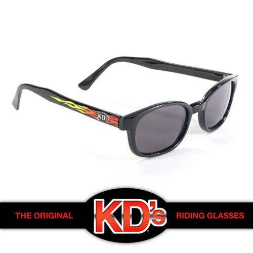 KD/'s Original Flames Smoke Lens KD Biker Motorcycle Riding Sunglasses SOA Samcro