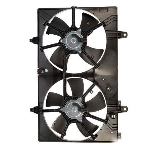 Dual Radiator and Condenser Fan Assembly TYC 620760 for Nissan Murano 2003-2007