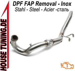 Tubo Rimozione DOWNPIPE FAP DPF Audi A3 (8P), TT (8J)  2.0 TDi 170 cv VA1