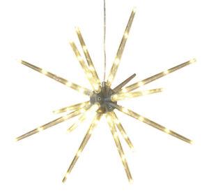 "Christmas Lights 14""D Outdoor Star Burst Ornament Sculpture Yard Lawn Decoration"