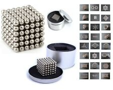 New 216 5mm Magic Magnetic DIY Steel Balls Sphere Cube EDC ADHD Beads Magnicube