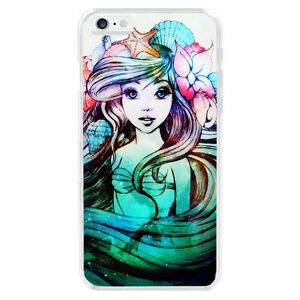 Beautiful-Ariel-the-Little-Mermaid-Soft-TPU-Case-Cover-For-iphone-6-6S-7-8-Plus