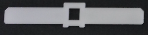 "50 x HILLARYS style vertical blind top hangers 3.5/"" 89mm spares//parts//repair"