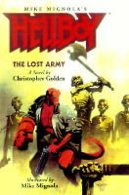 Hellboy The Lost Army, Golden, Christopher, Excellent Condition