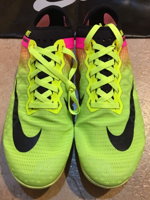 fdbc989f8f4 BRAND NEW Nike Mamba 3 Distance Volt Pink Track   Field spikes shoes Men s  11
