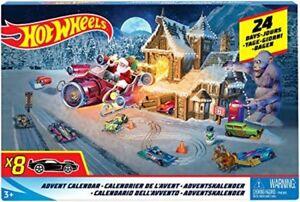 Christmas Toys For Boys : Hot wheels advent calendar christmas car toys kids boys countdown