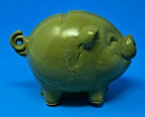 MOLD-A-RAMA-PIGGY-BANK-SEA-ISLA-CITY-NEW-JERSEY-MOLDVILLE-VERSION-IN-OLIVE-M9