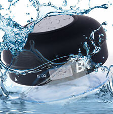 BX Bluetooth Waterproof Shower Speaker with Built in Mic /& Dedicated Suction Cup