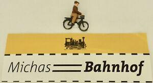 Cyclistes-sur-Velo-preiser-Bois-50er-Ans-H0-1-87-A