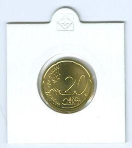 BRD  20 Cent  stempelglanz  (Wählen Sie zwischen: 2002 - 2020 und ADFGJ)