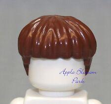 NEW Lego Minifig REDDISH BROWN HAIR Male//Boy Girl Minifigure