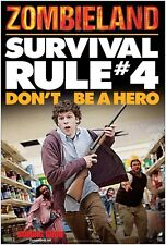 Zombieland movie poster Survival Rule # 4 - Don't Be A Hero : 11.5 x 17 inches