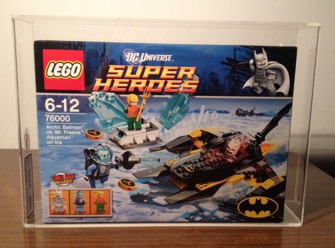 Lego 76000 AFA UKG classé 85% DC Super Heroes Batman Arctique vs Mr Freeze DGSIM