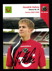 A 190369 Gut Verkaufen Auf Der Ganzen Welt Hendrik Hahne Autogrammkarte Hannover 96 2005-06 Original Signiert Sport