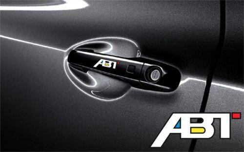 5x Aufkleber Audi ABT für Türgriff und Außenspiegels Cut Vinylselbstklebe