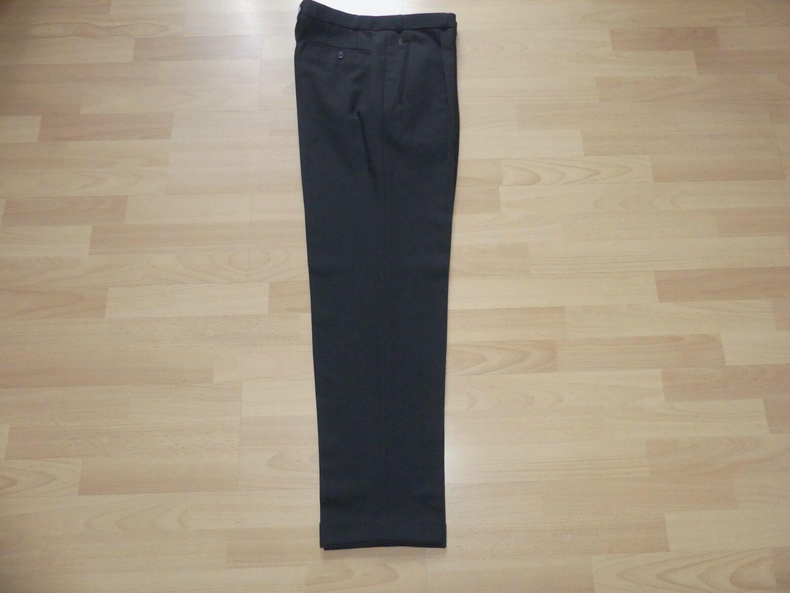 Gardeur High Twist Uomo Pantaloni Tuta Business Pantaloni Tessuto Tg 50 TOP Condizione