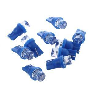 10x-W5W-ampoule-veilleuse-led-158-168-194-T10-2825-Bleu-XENON-plafonnier-effet-R