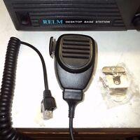 Relm Base / Repeater Microphone Dbu 6 Pin Rj45 Style Mic Plug 25 50 Watt