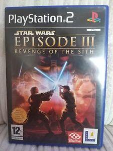 Star Wars Episode Iii Revenge Of The Sith Ps2 Videogames Ebay