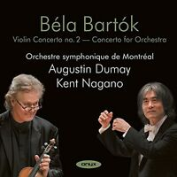 Bartok / Augustin Du - Violin Concerto No 2: Concerto For Orchestra [new Cd] on Sale