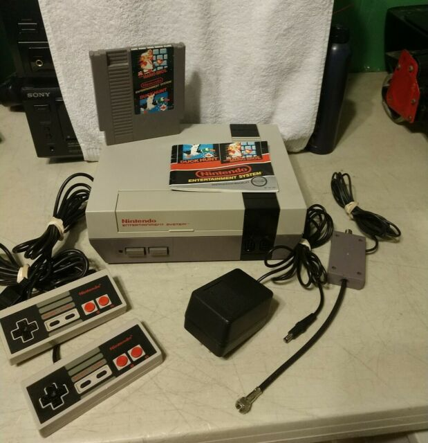 Nintendo NES System Action Set Console NEW 72 Pin Installed with Mario