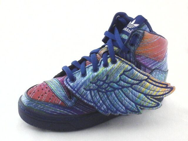 Size 8 - adidas Wings x Jeremy Scott Black
