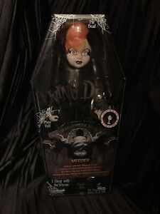 Living Dead Dolls Vesper Orange & Black US Version Exclusive LDD Halloween Doll