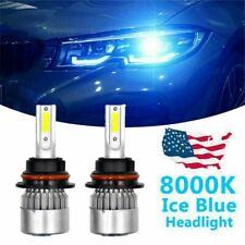 New Listingice Blue 8000k 9007hb5 Cob Led Headlight Bulbs Conversion Kit High Low Beam Us Fits Plymouth Breeze