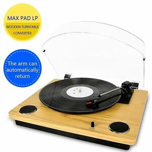 Record-Player-Max-Pad-Vinyl-Turntable-with-Stereo-Speakers-Convert-Vinyl-to-MP3