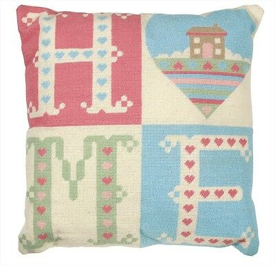 Anchor Living Home-Sweet-Home ALR38 Needlepoint Tapestry Cushion Kit