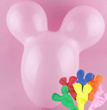 20pcs Mickey Mouse Shape Latex Animal Balloon Multi Color Toy for Party Decor