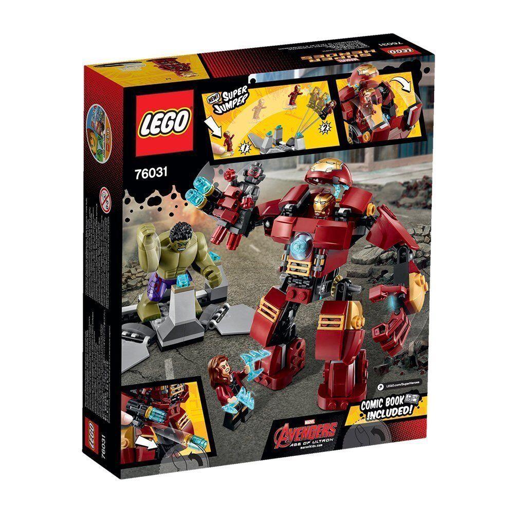 LEGO® Marvel Super Heroes 76031 Hulkbuster Rettungsmission NEU NEW OVP MISB