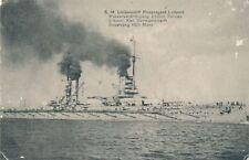 AK Militär, S.M. Linienschiff Prinzregent Luitpold, WK 1, (2407)