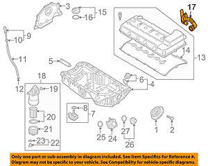 audi oem 07 10 q7 engine parts breather tube 03h103202a ebayimage is loading audi oem 07 10 q7 engine parts breather