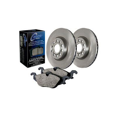 Centric 906.51001 Ceramic Front and Rear Disc Brake Pad and Rotor Kit