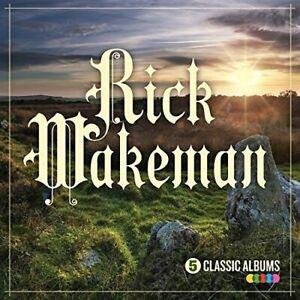 RICK-WAKEMAN-5-Classic-Albums-2016-5xCD-set-NEW-SEALED