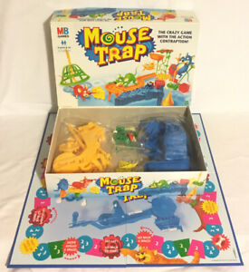 Mouse-Trap-Board-Game-1999-MB-Milton-Bradley-Vintage-98-Complete