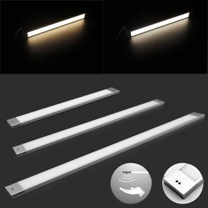 Dettagli su 40/60/90cm Lampada per Sottopensile Riflettore Piatto LED Luce  da Cucina NZ