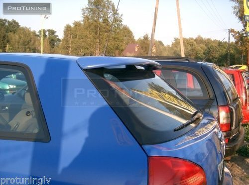 SPOILER FOR AUDI A3 8L TAILGATE REAR ROOF  Heck Blende TUNING RS3 S3 door back
